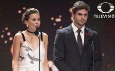 A los actores Paulina Goto y Horacio Pancheri les tocó entregar uno de los galardones de este importante evento de Televisa. Noticias de Espectáculos La Prensa