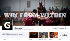 Gatorade Facebook Page