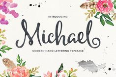 (60% off) Michael Script by mysunday on @creativemarket