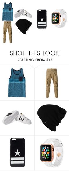 """Boy outfit"" by jtbae ❤ liked on Polyvore featuring Old Navy, Dsquared2, adidas Originals, Patagonia, Givenchy, men's fashion and menswear"