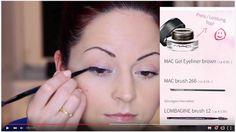 """Meine erstes Video ist seit gestern Nacht online  Wer sich fürs Thema """"Eyeliner"""" interessiert einfach mal auf YouTube schauen! Ihr findet mich unter kacy - makeup & photo  Freu mich auf euch!  #makeupgirls #makeupblogger #youtubechannel #youtubecommunity #makeup #videotutorial #schminken #schminktipps"""