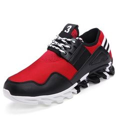 Ericdress Stylish Mesh Lace-Up Men's Sneakers