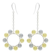Tutorial - How to: Partly Cloudy Earrings | Beadaholique