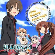 Little Busters! OP & ED Single Little Busters!/Alicemagic[Limited Edition]