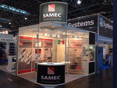A+A - Düsseldorf: SAMEC. Ricerca, analisi, promozione e comunicazione. Progettazione e realizzazione dell'allestimento dello stand. Photo by honegger