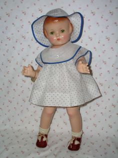 DOLLYOLOGY VINTAGE DOLLS AND ANTIQUES / COLLECTIBLES on Ruby Lane http://www.rubylane.com/item/358908-RL-30793/1930s-Effanbee-22-PATSY-LOU #effanbee