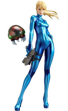 From the latest game in the Metroid series, METROID: Other M, comes a gorgeous PVC figure of the series protagonist, Samus Aran! The 1:8th scale figure shows off Samus wearing her Zero Suit - the outf