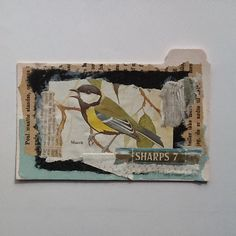 Tina Jensen Art Studio - Textile and Collage work. All ICADs posted on her blog from 2014 & 2015. Lovely collage pieces.