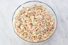 Russian Vegetable Salad Olivie