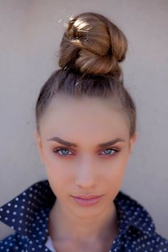 How do I do it?  Twisted Ballerina look  Natural pink make up Hair + make up by Panos Kallitsis
