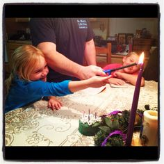 Advent For Dummies via Family At the Foot of the Cross