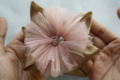 Image detail for -... Dear Eliza. ribbon bow and tutu flower – Handmade Flower Tutorials