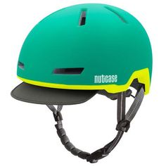Nutcase Helmets Tracer in Aurora Green