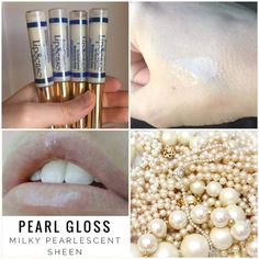 Pearl gloss provides a beautiful milky, pearlescent sheen. It will slightly tone down any LipSense color and is also great to use by itself to help combat chapped lips. **If it's not available on the website check out the in-stock album at www.FB.com/TanyasLipService, it's probably available there!