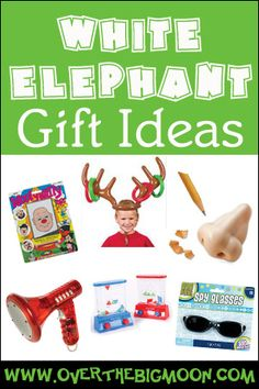 White Elephant Gifts 2013 - Some really fun and cool white elephant ideas for your holiday parties!
