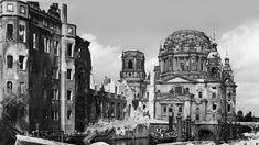 Kriegsende: Berlins vernarbte Wunden-Berliner Dom und Stadtschloss 1945