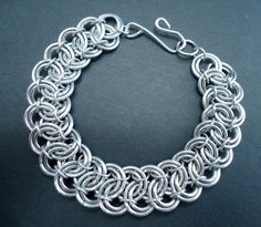 Rolling Waves Handmade Chainmaille Bracelet by lanzacreations, $30.00