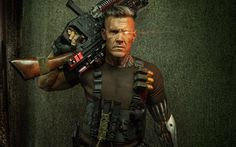 Scarica sfondi Cavo 2017 film di Deadpool 2, Ryan Reynolds