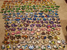 This Pokemon Perler bead sprite set features whichever Pokemon you wish! Pick any six of your favorite Pokemon from any game or generation, from Hama Beads Pokemon, Pokemon Craft, Pokemon Team, Perler Bead Designs, Pixel Art, Make Your Own Pokemon, 8bit Art, Peler Beads, Perler Patterns