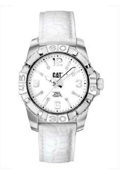 c77d7d400 A4 341 31 232para #dama en #blanco #reloj #watch #mujer #woman #lady #CAT # Caterpillar #México