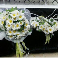 Gelin el çiçeği ve taci