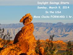 Daylight Savings starts in the USA Sunday, March 9, 2014 Spring forward 1 hour