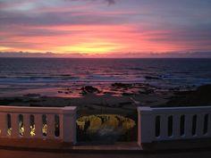SUNSET IN SANTA CRUZ, PORTUGAL