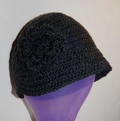20's vintage style crochet hat pattern (plus helpful hint for crocheting hats)