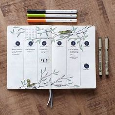 """281 Likes, 11 Comments - Bulletjournaling (@contracrastination) on Instagram: """"I'm a little bit late with my weekly spread, but now my exams are finally over! Thanks for the 200…"""""""