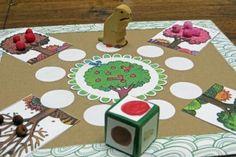 Math Games Kindergarten Plays Ideas For 2019 Play School Activities, Preschool Board Games, Kindergarten Math Games, School Games, Preschool Crafts, Maths, Diy For Kids, Crafts For Kids, Fall Crafts
