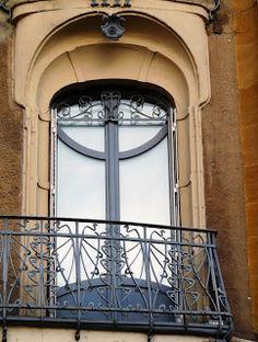 Art nouveau. Metz. France