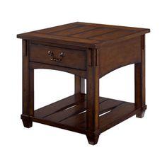 "Item #:049-915 Description: One shelf, One drawer  Dimensions:24.00""H x 24.00""W x 28.00""D"