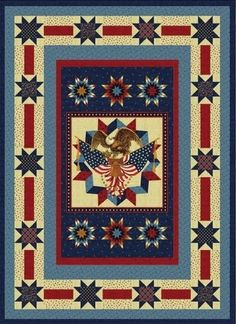 Star Spangled Designed By Robert Kaufman Fabrics Features