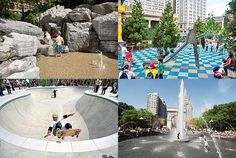 Best NYC playgrounds via Cup of Jo
