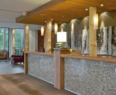 LEMAYMICHAUD | Architecture | Design | Museum | Exhibition | Hospitality | Hotel | Lobby | Reception| Desk | Welcome |