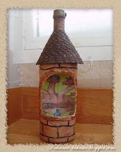 Кукуня и Кукуся: Бутылка к 23 февраля. Мастер-класс