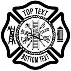 Fire Department Maltese Cross Free Cutting File SVG GSD