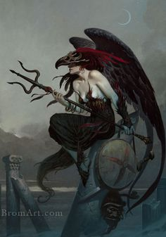 Gerald Brom is an award-winning horror writer and artist who started as a commercial illustrator for clients including Coca-Cola, IBM, CNN and Columbia Pictures. He's contributed to Magic: The Gathering (Wizards of the Coast) and TSR's Dungeons and Dragons. Come meet him July 3-5 at Fantasy Con in SLC! #artist #RPG #Magic #fantasy