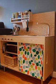 play kitchen Ikea hack