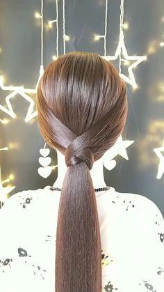 Medium Hair Braids, Medium Hair Styles, Curly Hair Styles, Box Braids, Hair Braiding Styles, Long Hair Ponytail Styles, Easy Updos For Medium Hair, Braiding Your Own Hair, Long Hair Wedding Styles