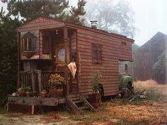 Rolling handmade home. Glamping, Gypsy Caravan, Gypsy Wagon, Gypsy Trailer, Sweet Home, Campervan Interior, Gypsy Life, Boho Life, Decoration Design