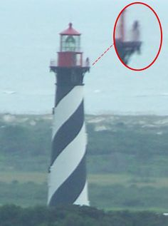 Purported to be the ghost of the St. Augustine Lighthouse.. a little girl of 10 or thereabouts,
