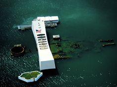 Never Forget. USS Arizona, Pearl Harbor.