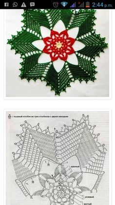 Vintage granny square christmas tree free crochet pattern video salvabrani – A. Crochet Christmas Decorations, Christmas Crochet Patterns, Holiday Crochet, Christmas Crafts, Christmas Tree, Crochet Quilt, Crochet Dollies, Thread Crochet, Crochet Flowers