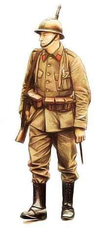 Sargento Belga, 1940