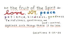 fruit of the spirit verse - Google Search