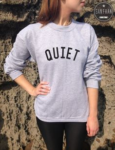 QUIET Jumper Sweater Sweatshirt Top Niall Horan One от SanFranCo, £14.99