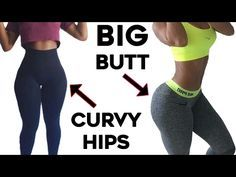 ❤️How To Get Curvy Hips and Bigger Butt| 4 Workouts For Wider Hips and Big Booty! - YouTube