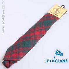 Menzies Green Tartan Tie from ScotClans