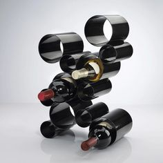 Modern Wine rack by Umbra